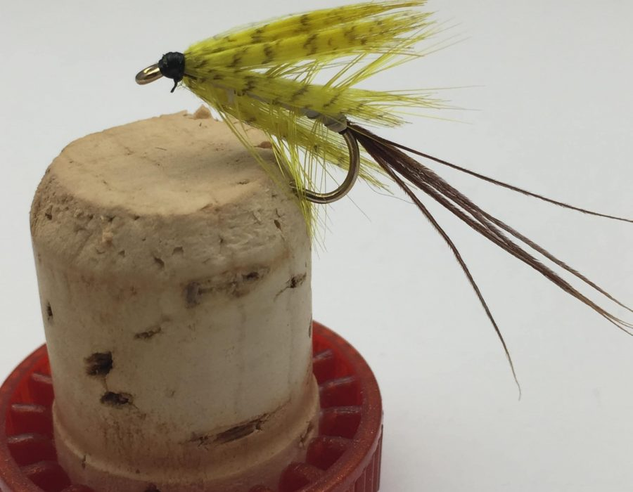 24 Cats Whisker Gold Bead Head Standard Trout Fly Fishing Flies Choice Of Size